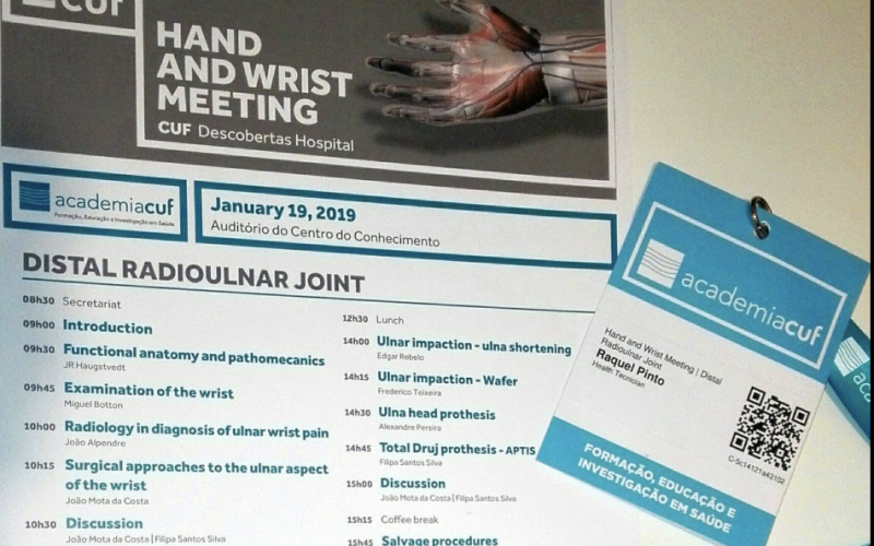 "Fisioterapeuta participa no ""Hand and Wrist Meeting FisioRoma"